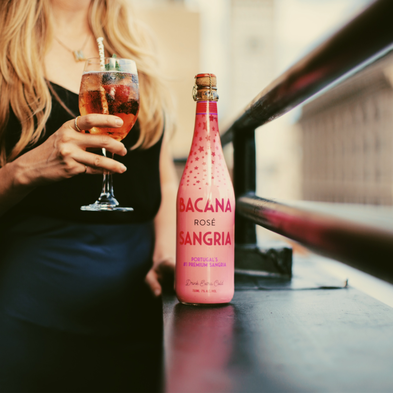 Thirst Trap: Sparkling Rosé Cocktail Recipe with Bacana